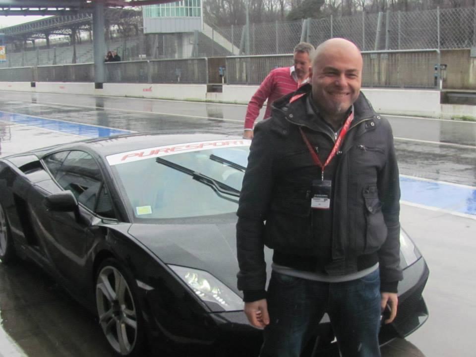 Autodromo di Monza guidando una splendida Lamborghini..