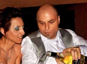 Maria Suppa e Faustino Pugliese nel giorno del loro matrimonio