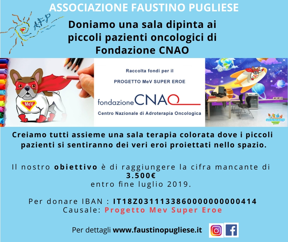 CNAO - Post di Facebook